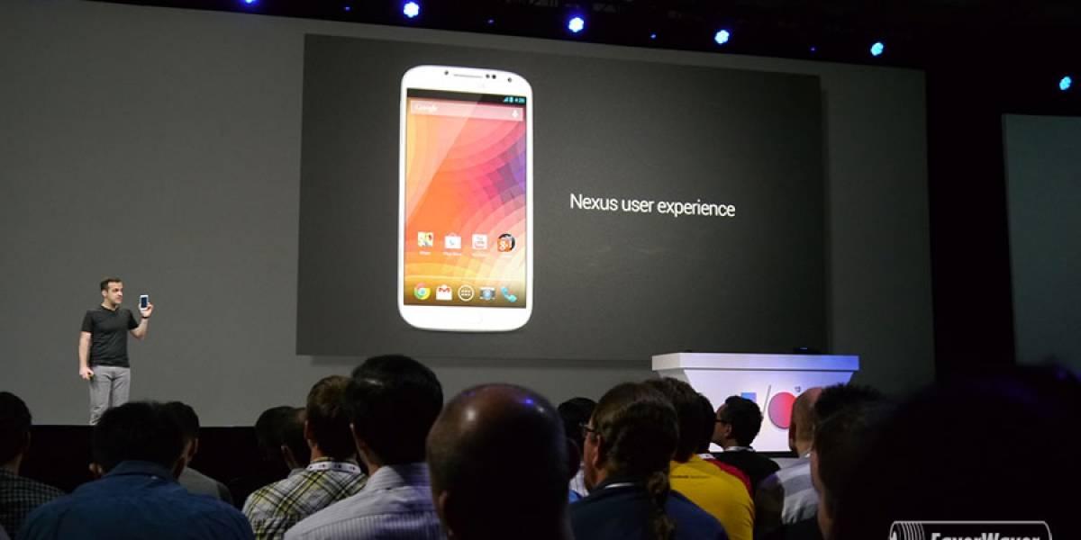 Google lanza Samsung Galaxy S4 con Android sin modificar #IO13