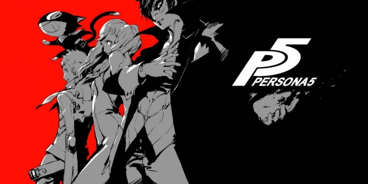 Persona 5 llega al occidente a comienzos del 2017