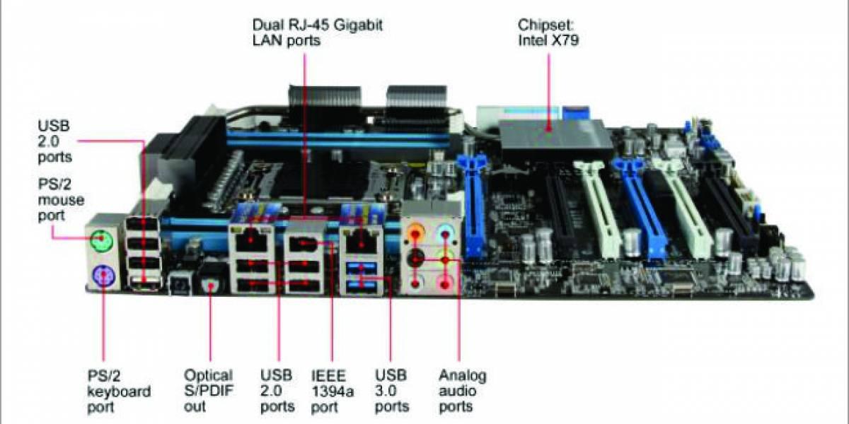 Asus lanza tarjeta madre P9X79 WS para el sector profesional