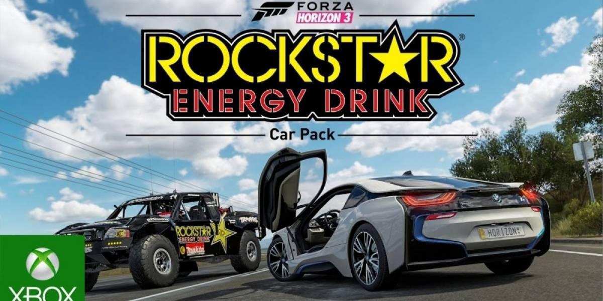 Forza Horizon 3 recibe nuevo DLC de autos: The Rockstar Car Pack