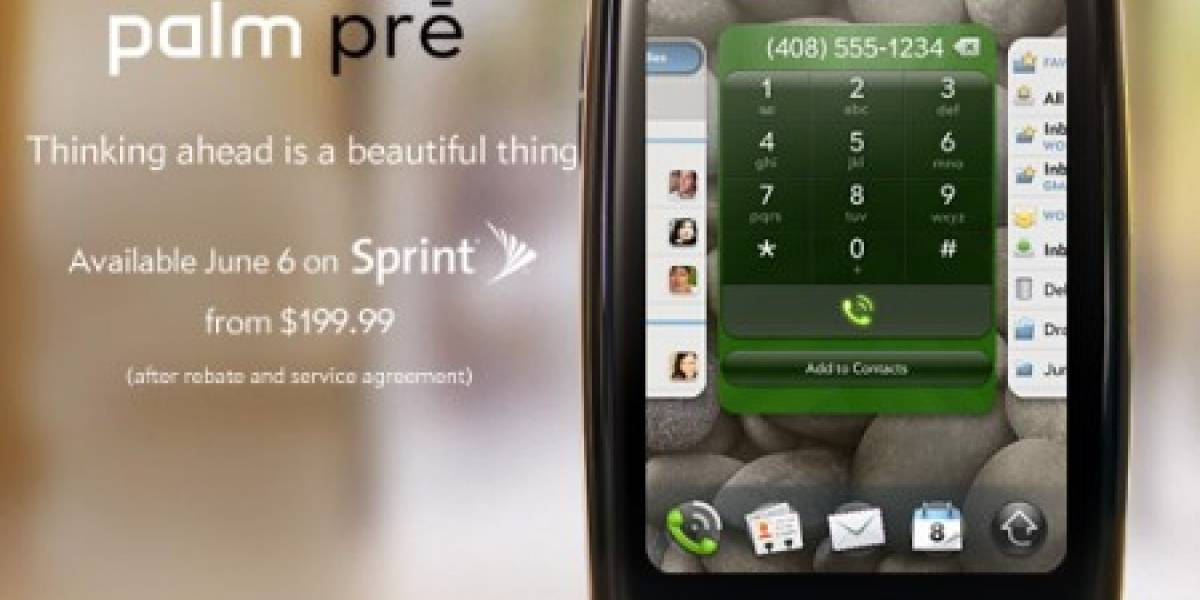 Palm prē será oficialmente lanzada el 6 de Junio
