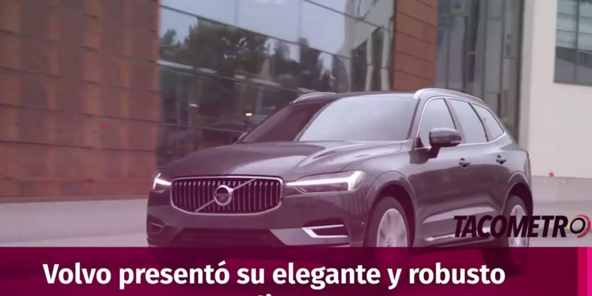 XC60, el SUV mediano de Volvo que mezcla elegancia y poder