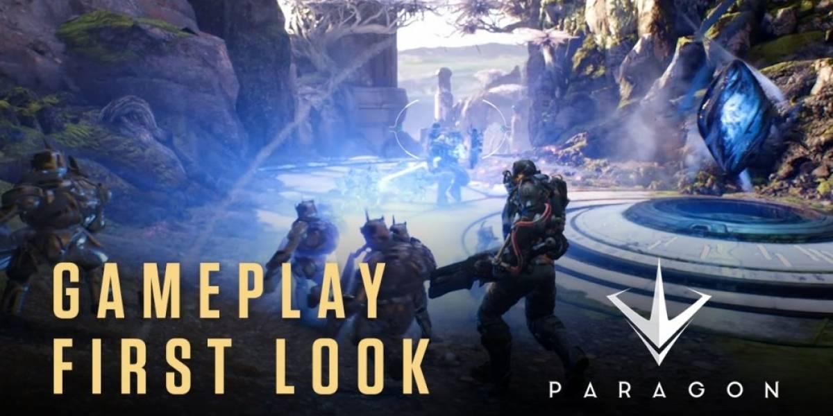 Paragon de Epic Games es un MOBA y llegará a PS4 #PSExperience