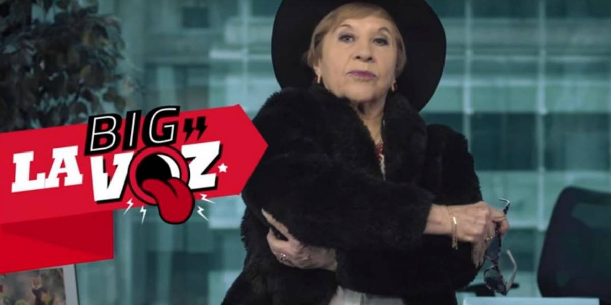"""Paty Cofré es la nueva """"Big Voz"""" de Virgin Mobile en Chile"""
