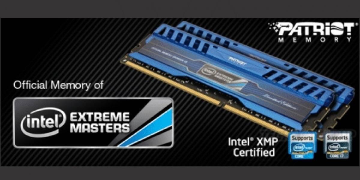Patriot lanza sus módulos de memoria Intel Extreme Masters