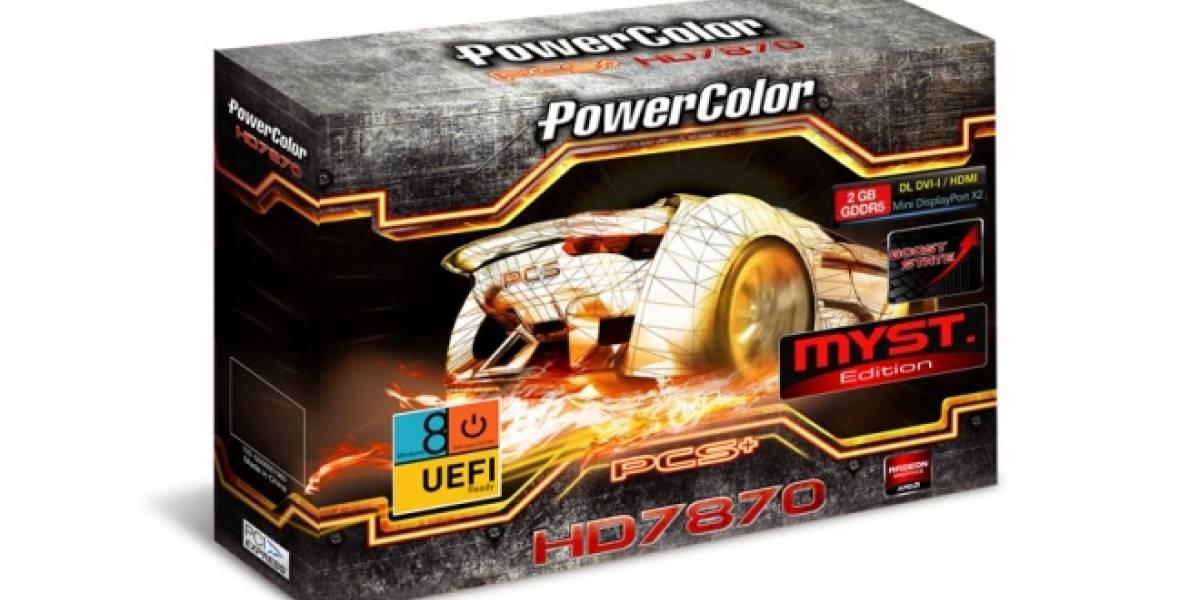 Powercolor anuncia su nueva tarjeta de video PCS+ HD7870 Myst. Edition