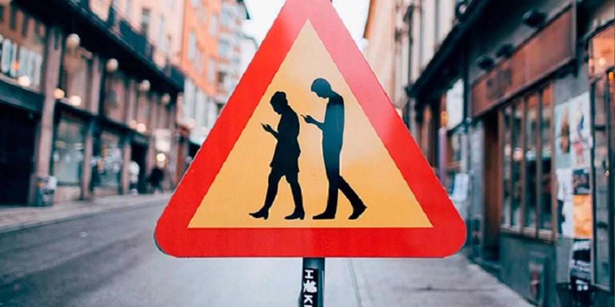 Las muertes peatonales crecen 400% en EE.UU. por culpa del smartphone