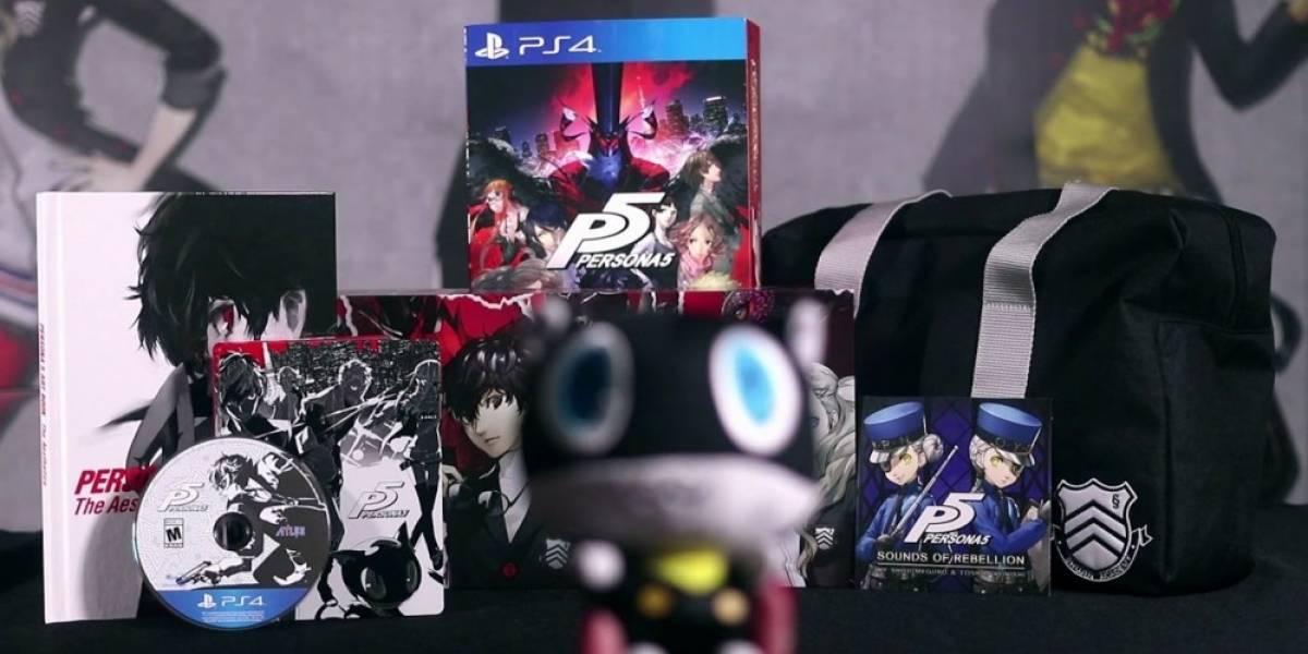 Vean el Unboxing de la Edición Premium de Persona 5