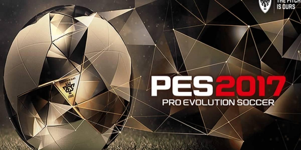 PES 2017 es anunciado oficialmente
