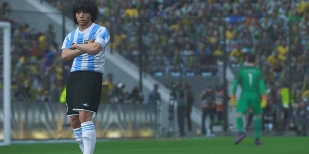 Konami le responde a Diego Armando Maradona