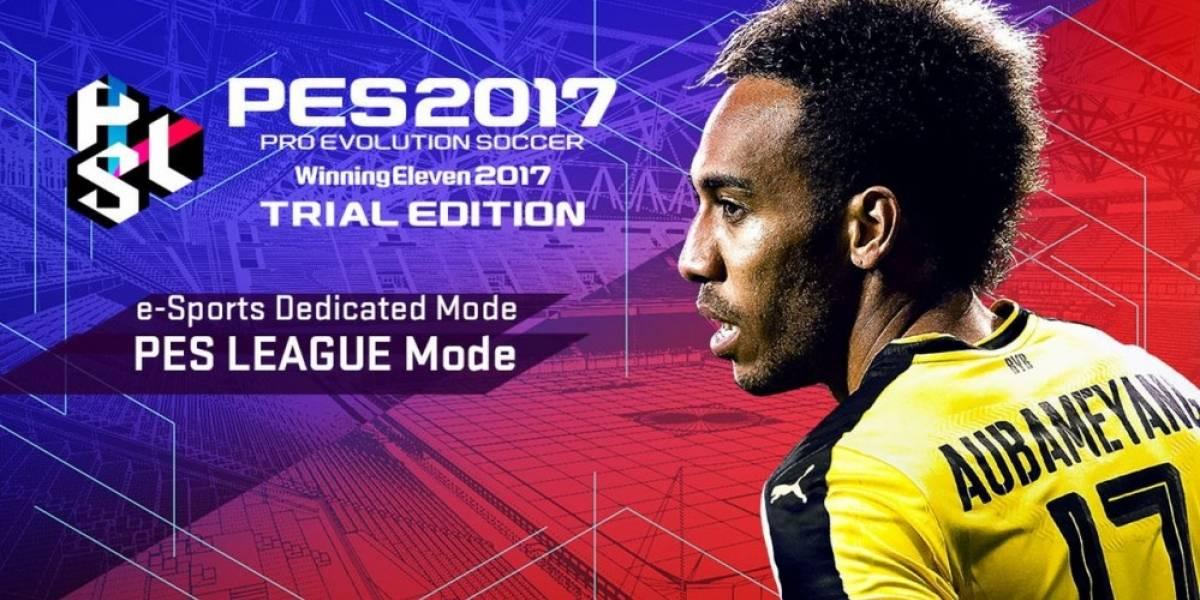 Konami presenta versión gratuita de PES 2017