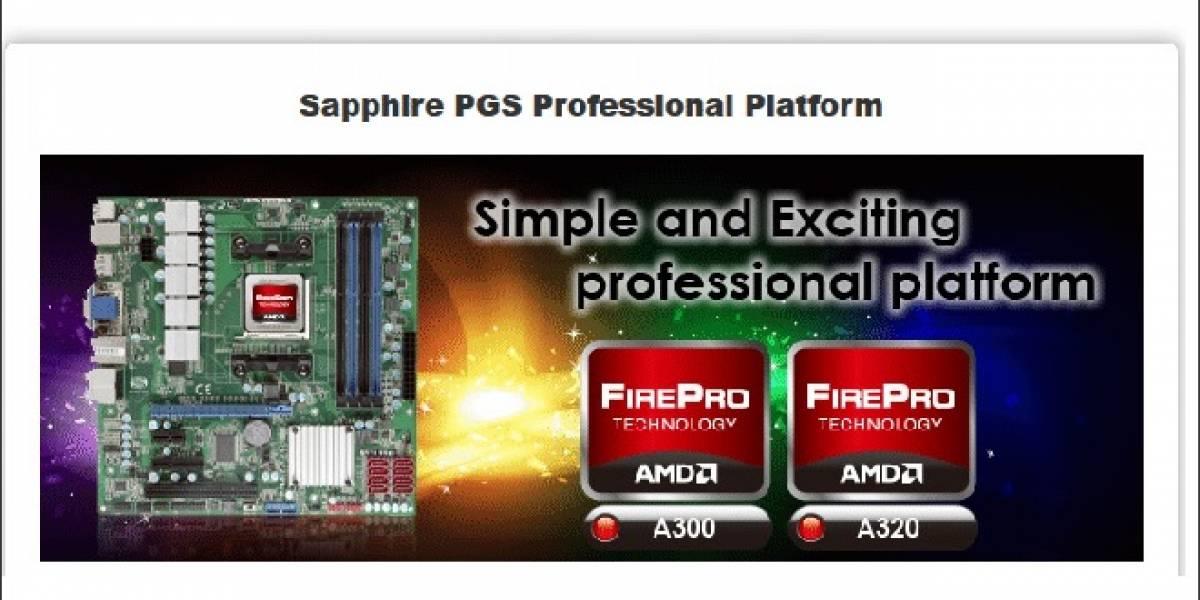 Sapphire PGS: Los APUs AMD FirePro A300 Series llegaron