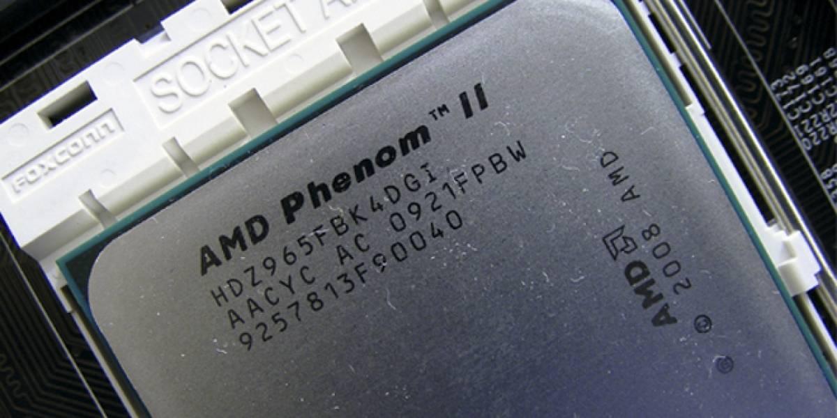 En diciembre muere la línea de procesadores AMD Phenom II