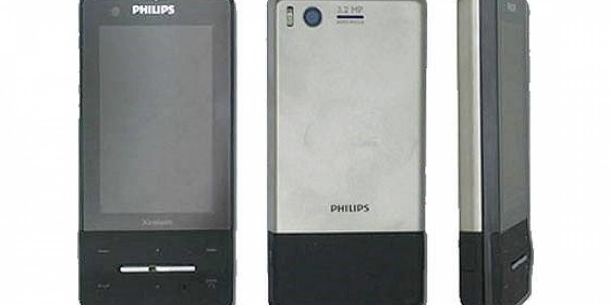 Philips X810: El Xenium con pantalla táctil