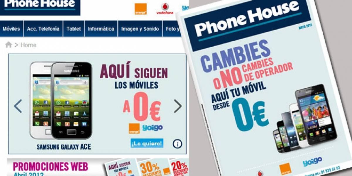 The Phone House aún ofrece móviles a 'cero euros' en España