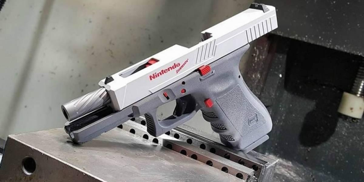Crean una pistola basada en la Zapper de Nintendo