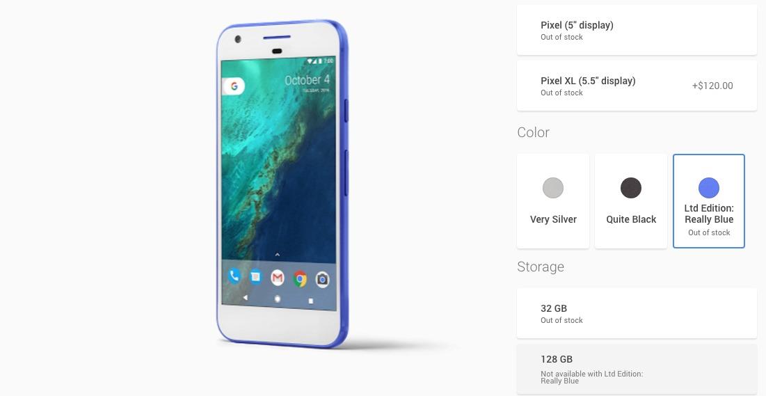 Se agota el Pixel en color azul a pocas horas de su presentación ...
