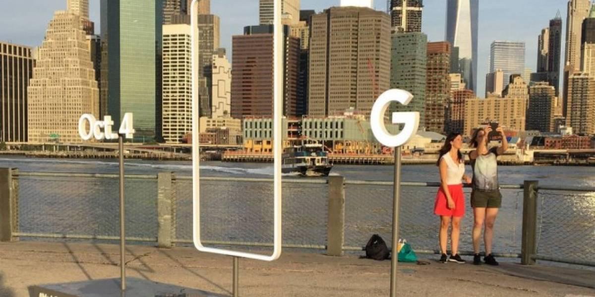 Aparece escultura en Nueva York que promueve la presentación de Pixel