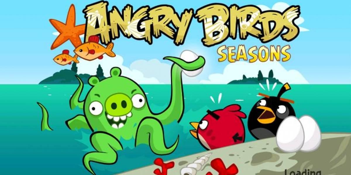 Angry Birds Seasons se renueva, llevando la acción a 'Pigtlantis'