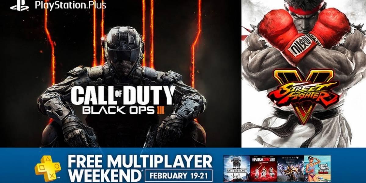 Multijugador gratis en PSN durante el fin de semana