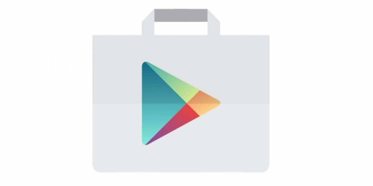 Play Store prueba mostrar resultados de búsqueda en tarjetas