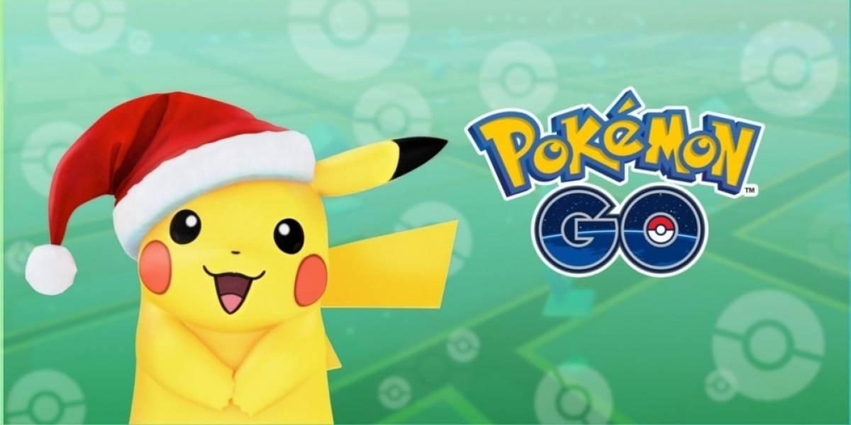 Pokémon Go tiene evento especial de Navidad