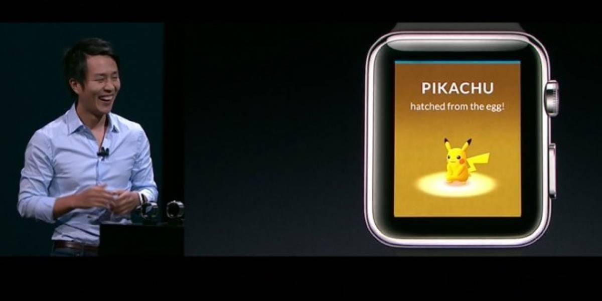 Pokemon Go llegará al Apple Watch