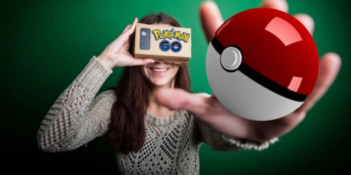 Pokémon GO llegaría pronto a Google Cardboard y otros dispositivos VR