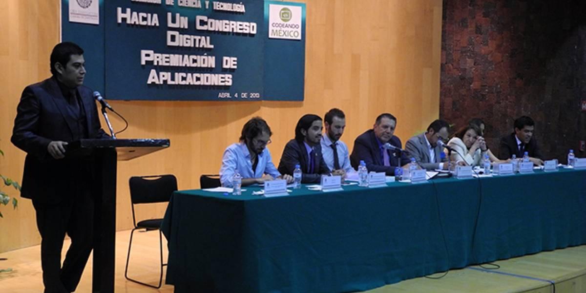México: Cámara de Diputados premia a jóvenes por crear app gratuita para el Congreso