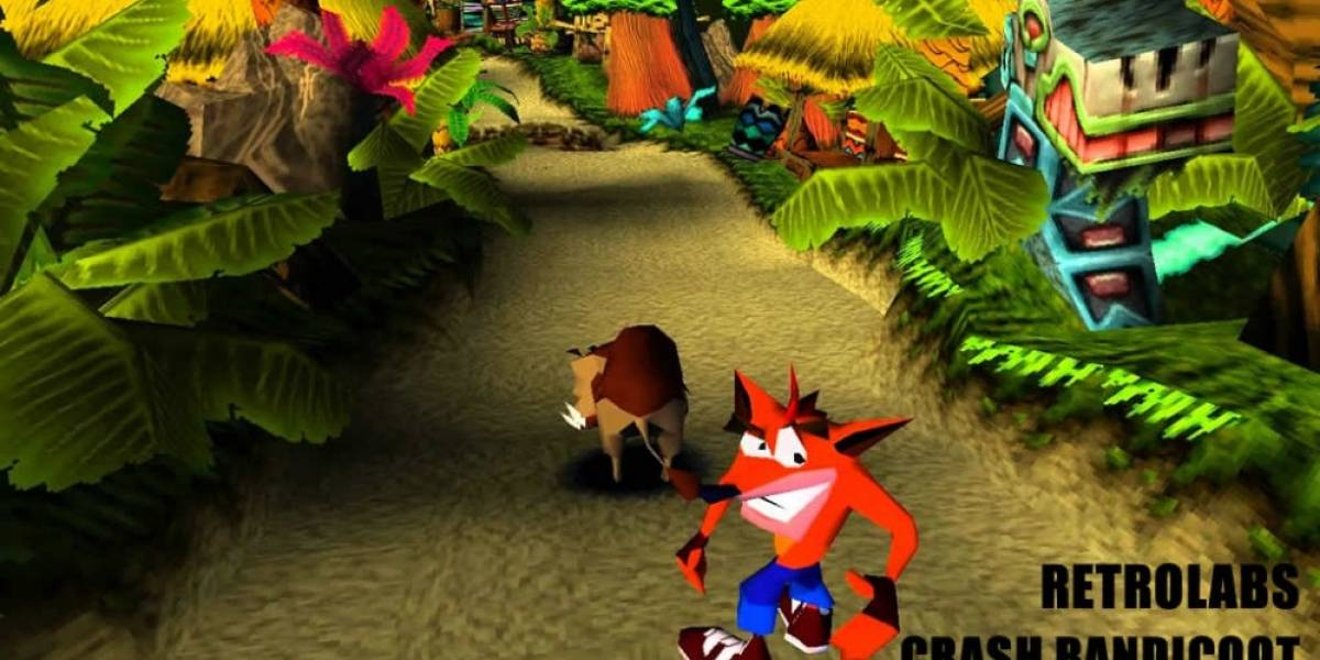 Retro Labs: Crash Bandicoot