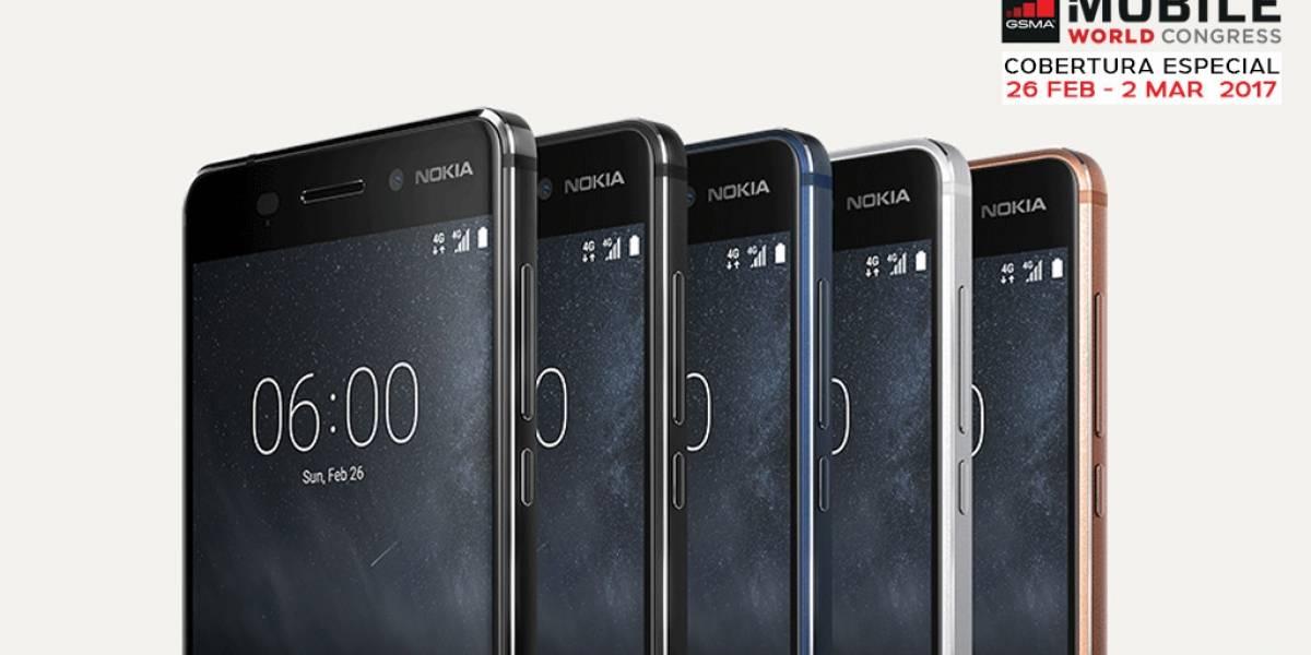 Los nuevos teléfonos de Nokia A Primera Vista #MWC17