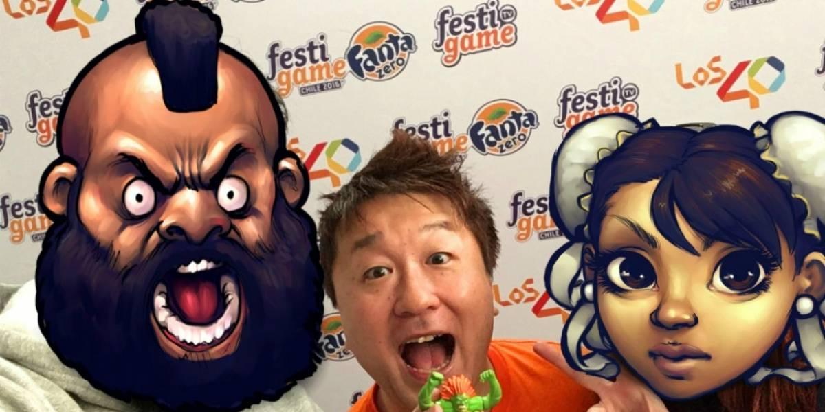 Entrevistamos al padrino de Street Fighter, Yoshinori Ono, en Festigame 2016