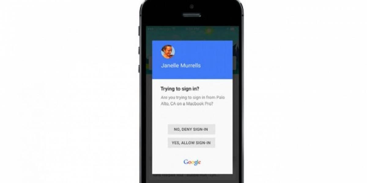 Google mejora sistema de seguridad cuando inicias tu cuenta