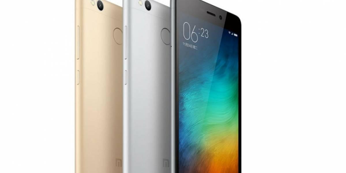 Xiaomi Redmi 3S es oficial, conoce todos sus detalles