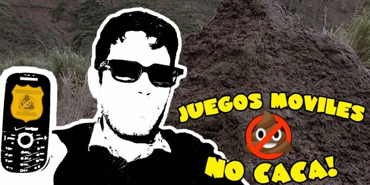 Juegos Móviles No Caca: Super Mario Caca