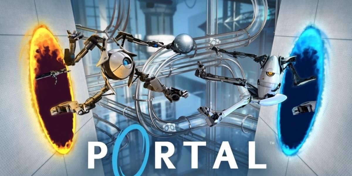 Así luciría Portal en la vida real, gracias a los HoloLens