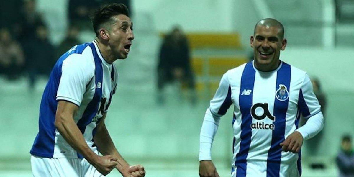Héctor Herrera y Diego Reyes fueron titulares en empate del Porto