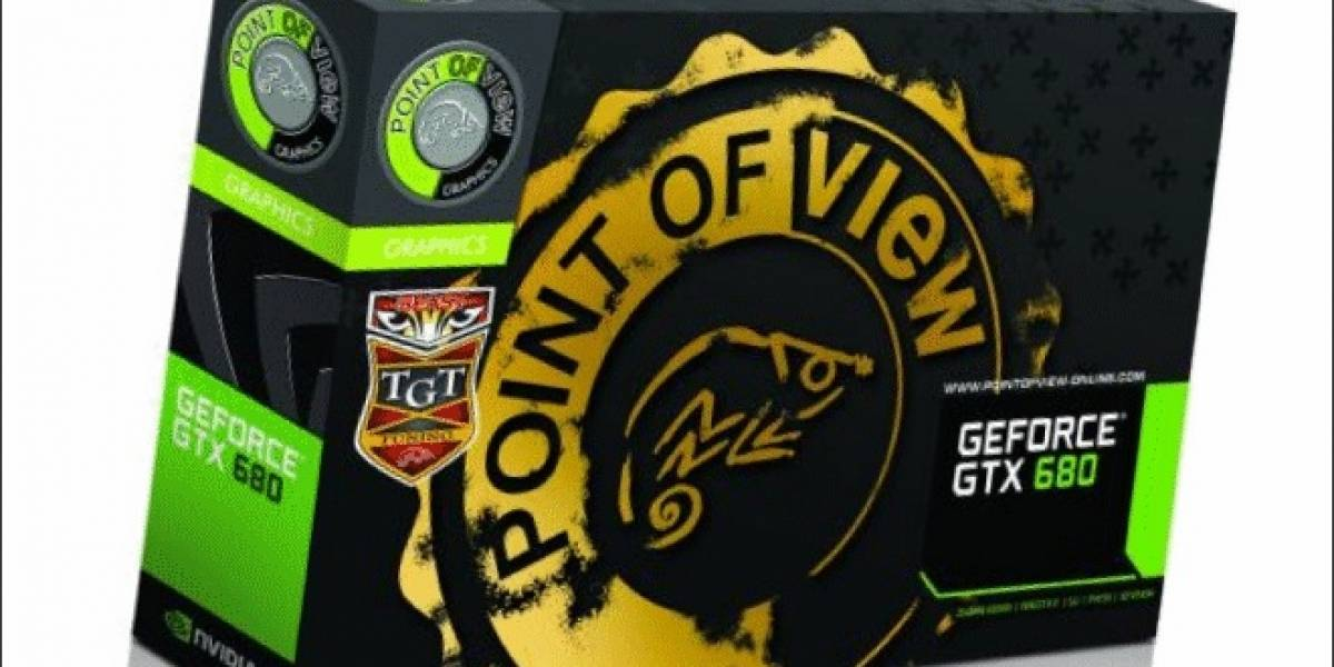 Point Of View alista su nueva tarjeta de video GeForce GTX 680 Beast Edition