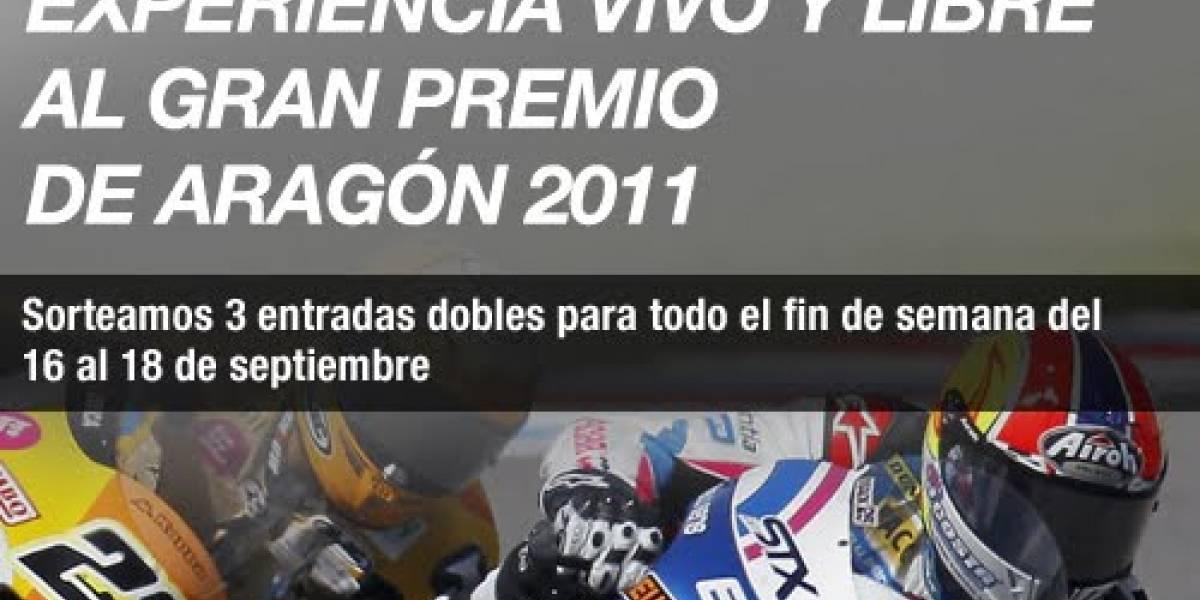 España: Ya hay ganadores de las entradas para el Gran Premio de Aragón