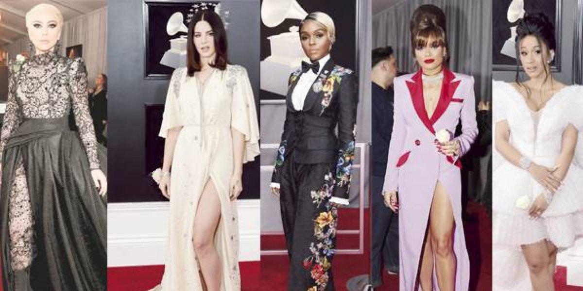 5 looks más impactantes de los premios Grammy