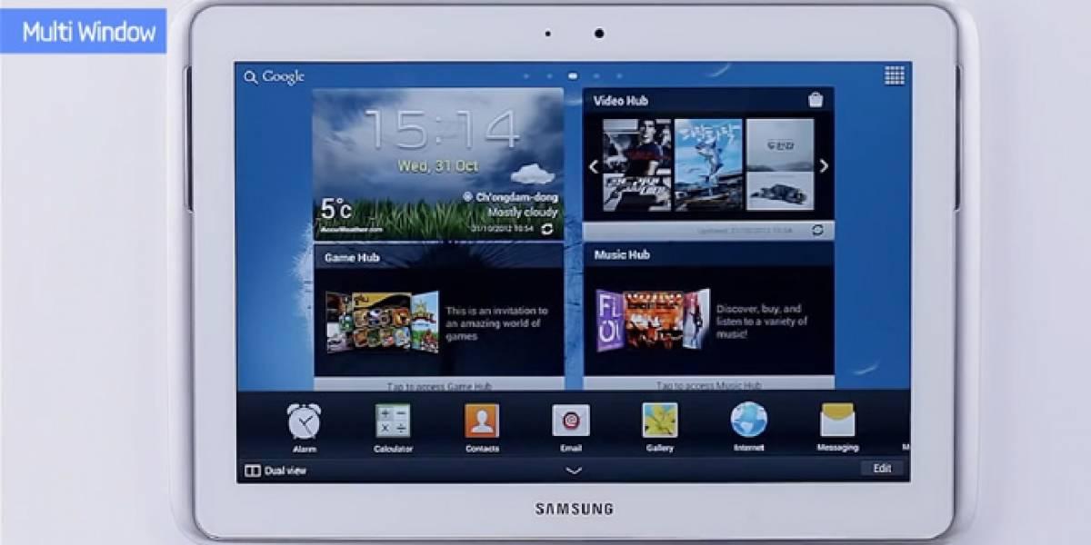 """Detalles de la """"Premium Suite"""" para el Samsung Galaxy Note 10.1 (Video)"""