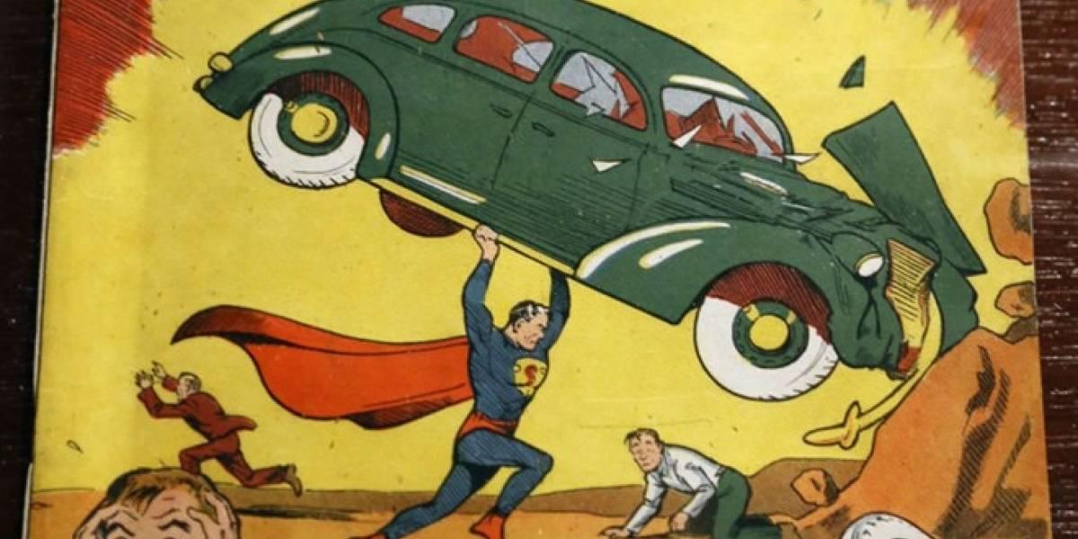 Subastan una rara edición del primer número de Superman en casi USD$ 1 millón