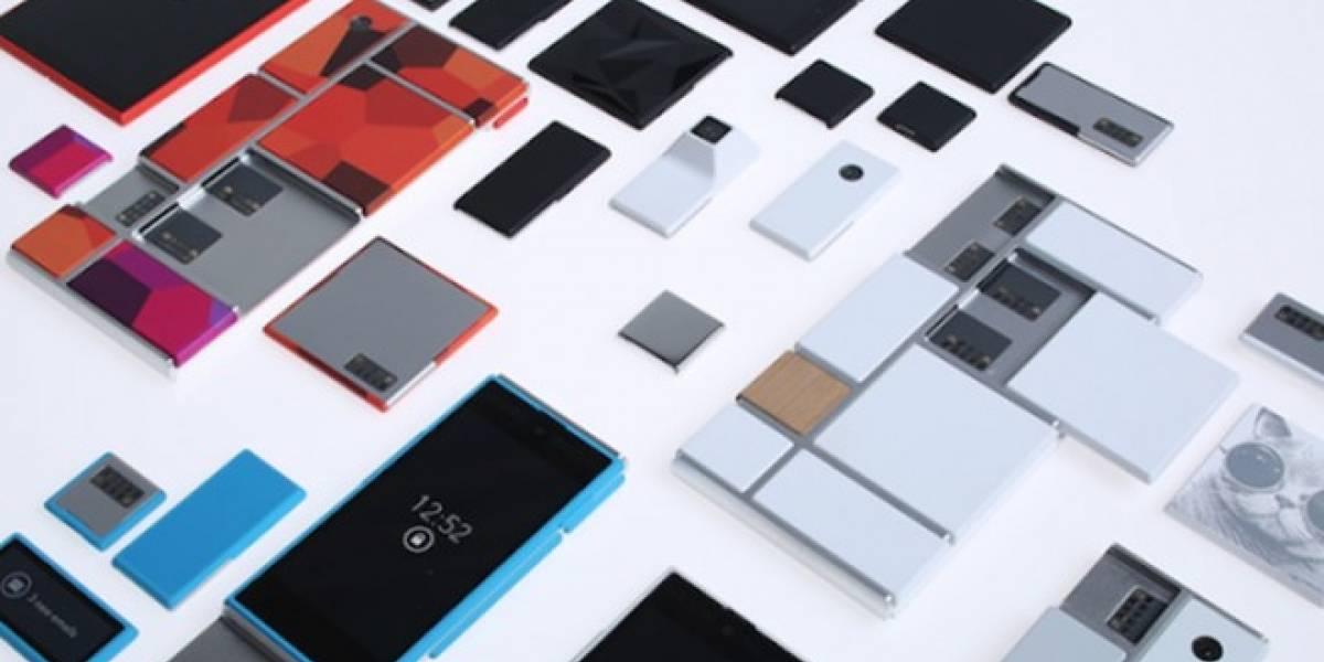 Fotos de un prototipo del Project Ara, el smarthphone modular que nunca veremos