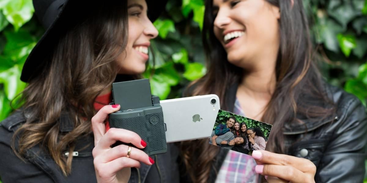 Esta carcasa convierte a tu iPhone en una Polaroid