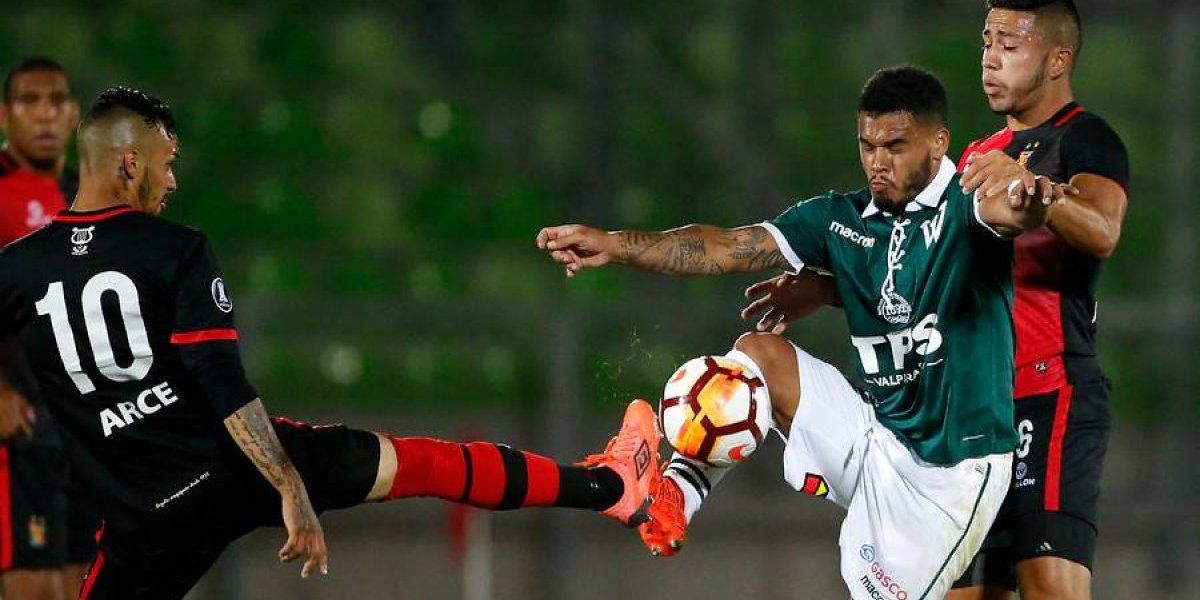 Wanderers no supo imponerse en casa y se queda con amargo empate ante Melgar