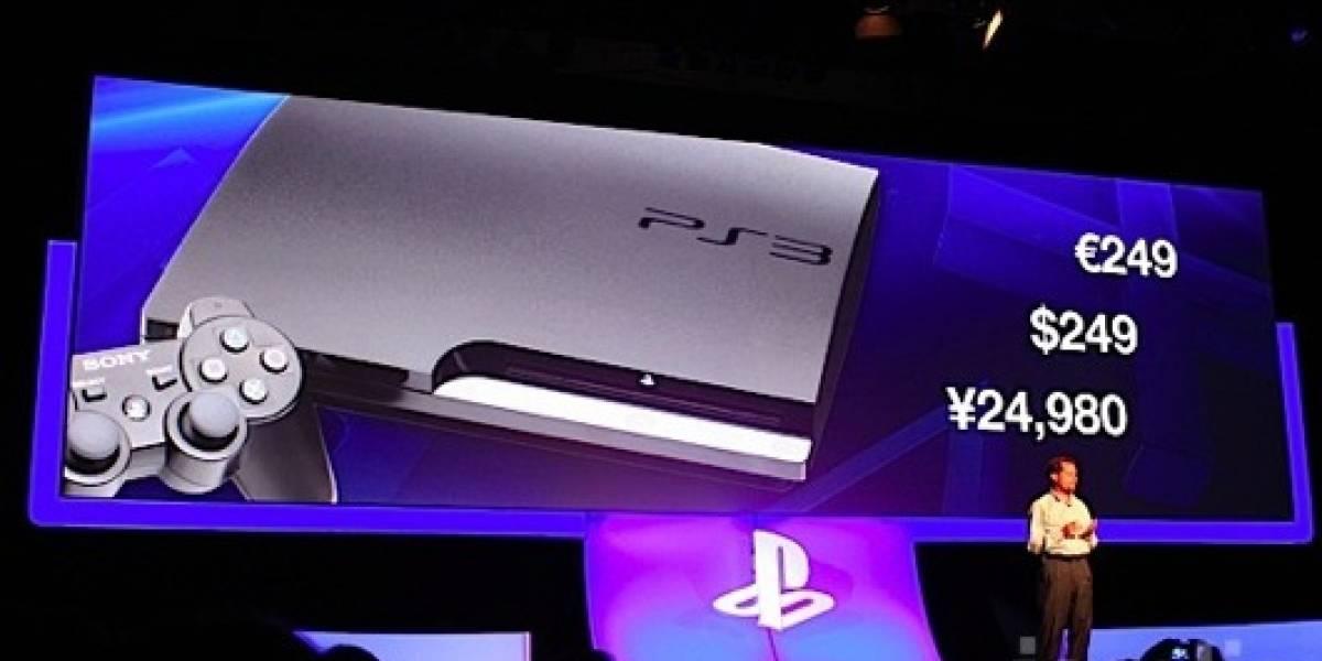 Sony recorta el precio de la PS3 en USD$50, ahora a USD$249