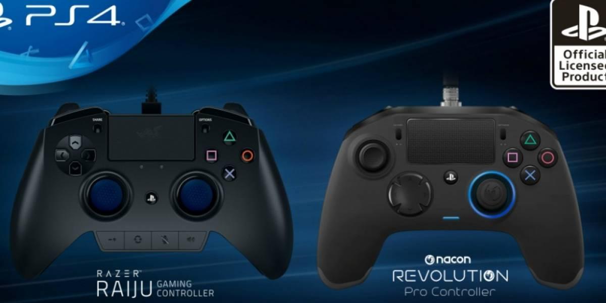 Sony presenta dos controles profesionales para PS4