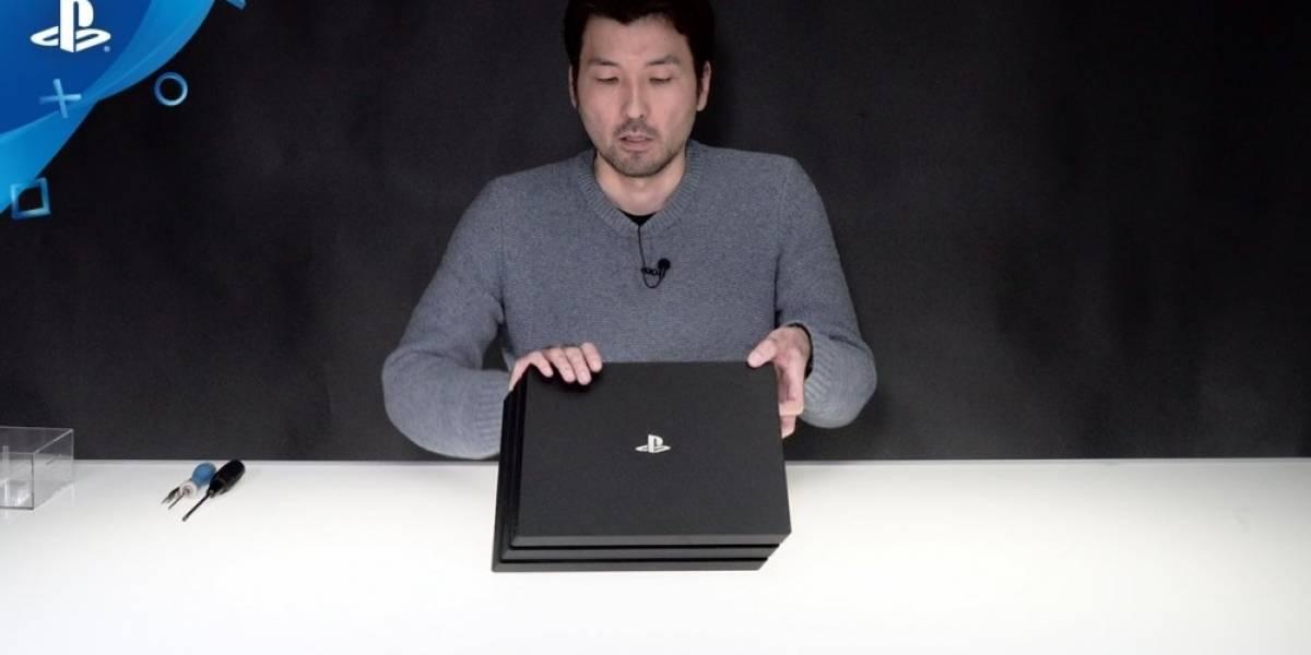 Vean cómo desensamblan una PS4 Pro