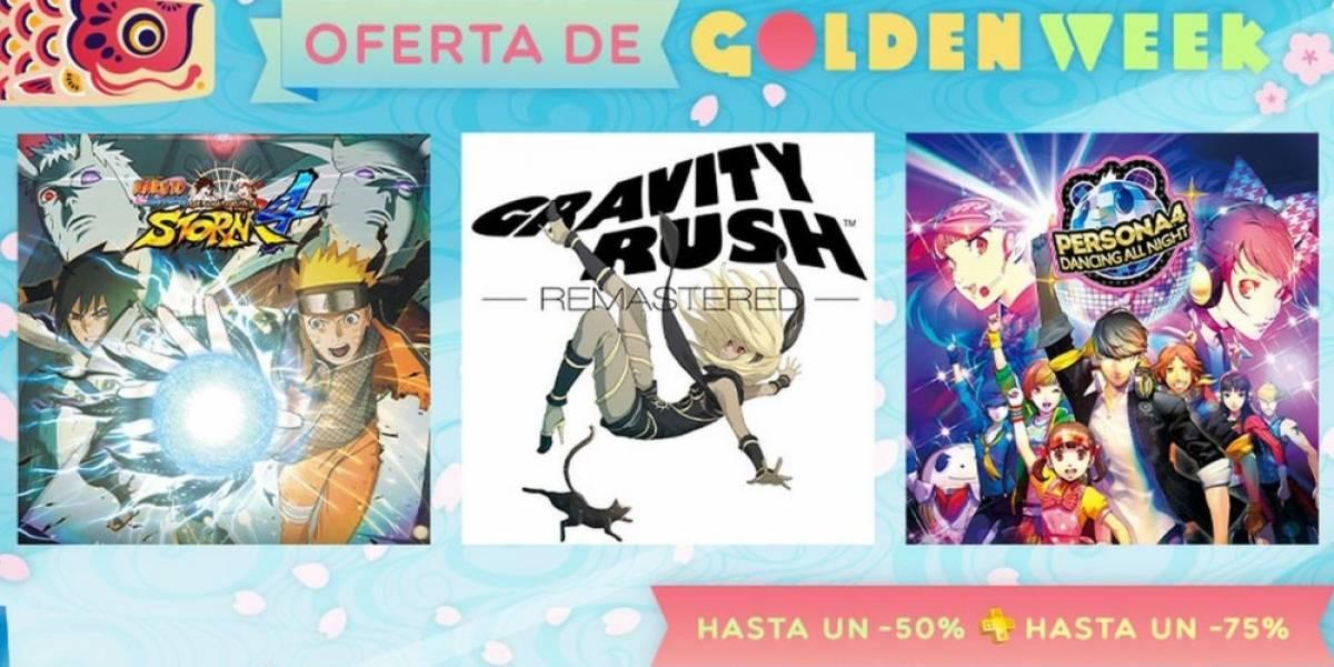 PlayStation Store tiene venta especial de Golden Week