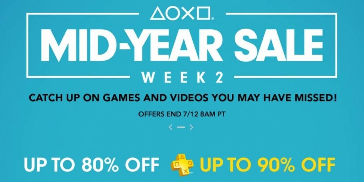 Semana 2 de la venta especial de mitad de año en PlayStation Store